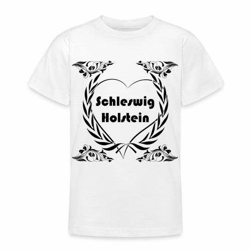 Ich liebe Schleswig-Holstein - Teenager T-Shirt