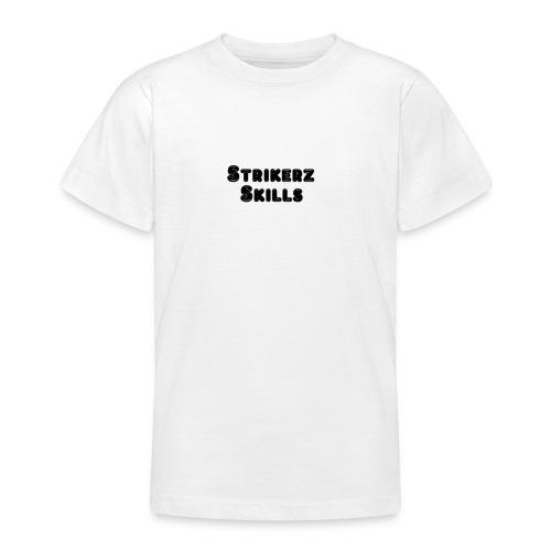 Strikerz Skills Black - Teenage T-Shirt