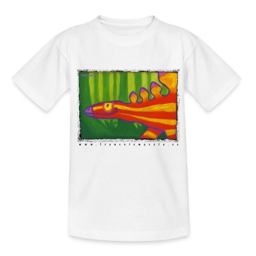 funny stegosaur - Teenage T-Shirt