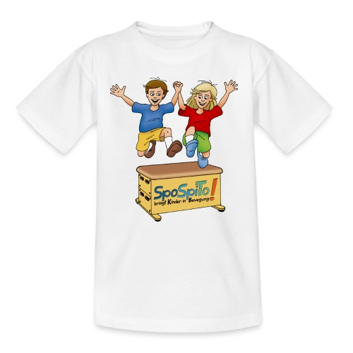 Sporteln Spielen Toben - Teenager T-Shirt