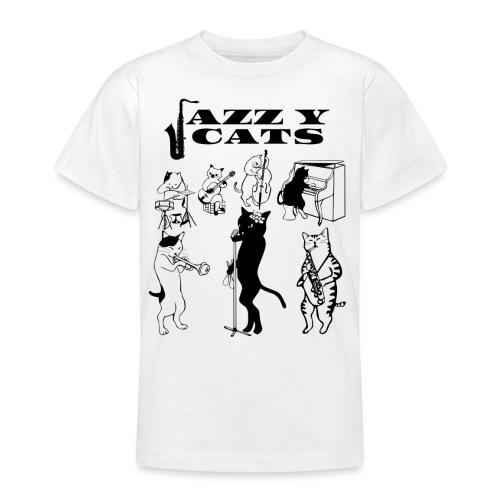 jazzy cats - T-shirt Ado