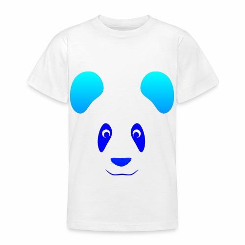 Happy Panda - Blue - Teenage T-Shirt