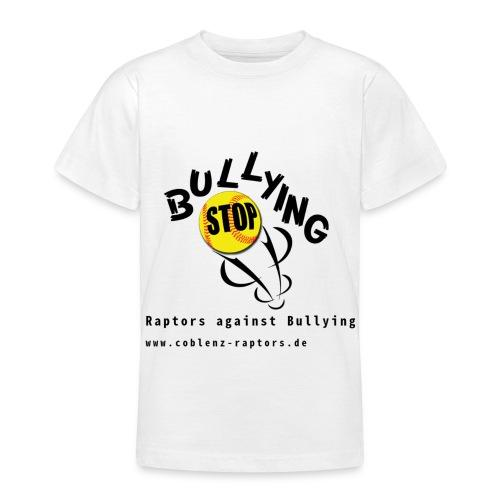 RaptorsAgainstBullying Hell - Teenager T-Shirt