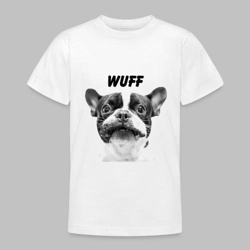 Wuff - Hundeblick - Hundemotiv Hundekopf - Teenager T-Shirt