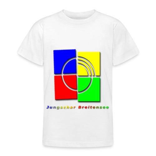 junschar logo bunt t - Teenager T-Shirt