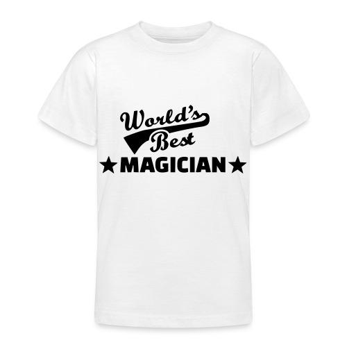 Worlds Best Magician - Teenage T-Shirt