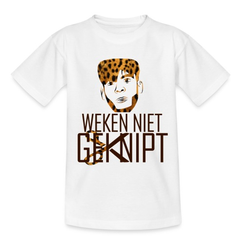 logo leopard - Teenager T-shirt