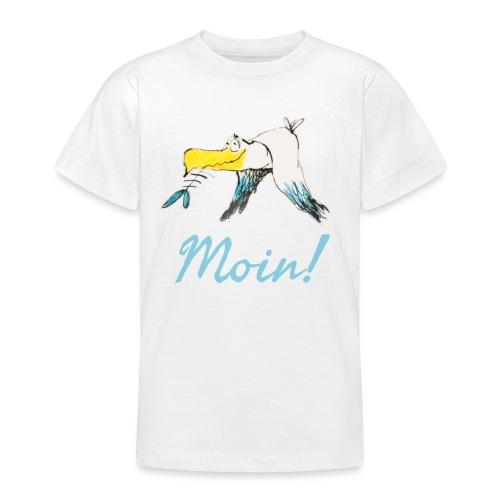 Lustige Moin Möwe von Volker Ernsting - Teenager T-Shirt