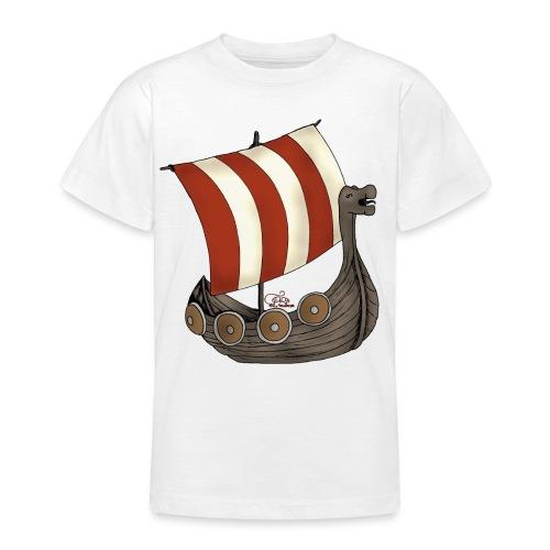 Eriks Winkingerschiff - Teenager T-Shirt