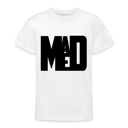 Maddem logo (Black) - Teenage T-Shirt