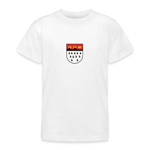 Köln Wappen Modern - Teenager T-Shirt