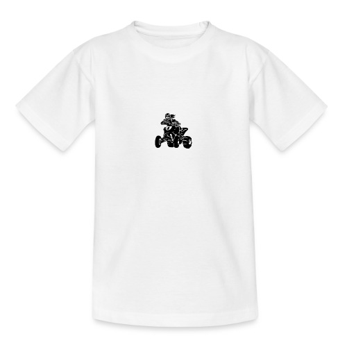 Motocross QuadLady - Teenager T-Shirt