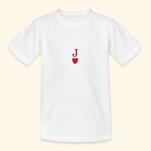 Valet de trèfle - Jack of Heart - Reveal - T-shirt Ado