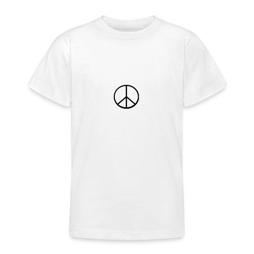 peace - T-shirt tonåring