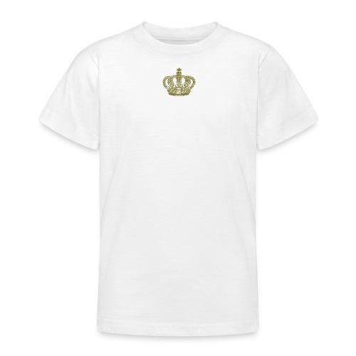 kongekrone - T-skjorte for tenåringer