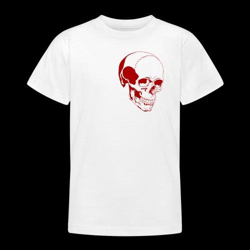 Schädel - Teenager T-Shirt