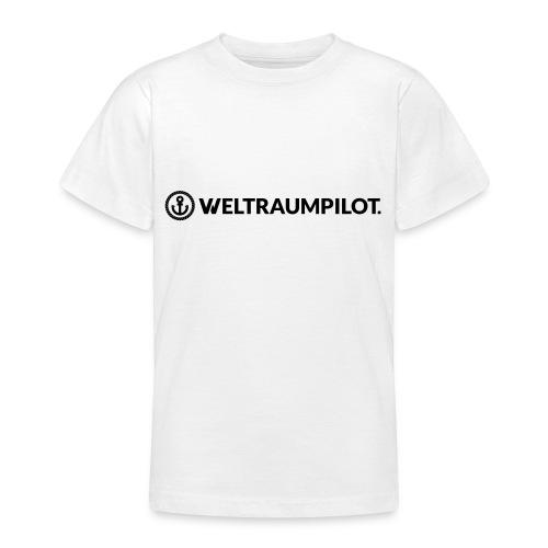 weltraumpilotquer - Teenager T-Shirt