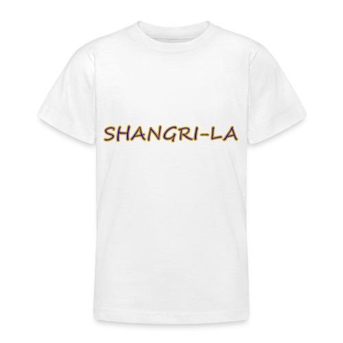 Shangri La goldblau - Teenager T-Shirt