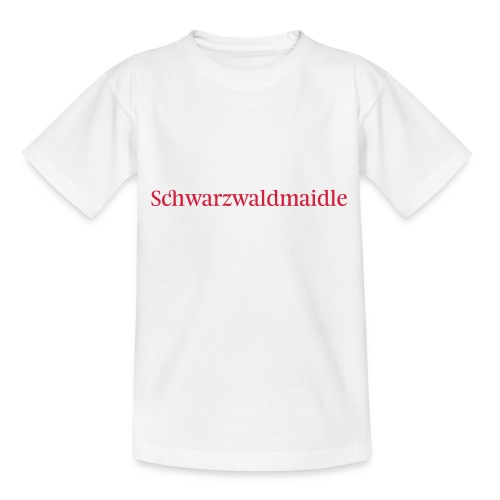 Schwarzwaldmaidle - T-Shirt - Teenager T-Shirt