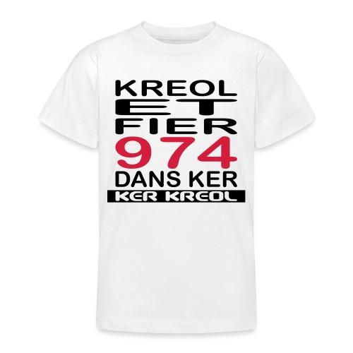 Kreol et Fier dans Ker - T-shirt Ado