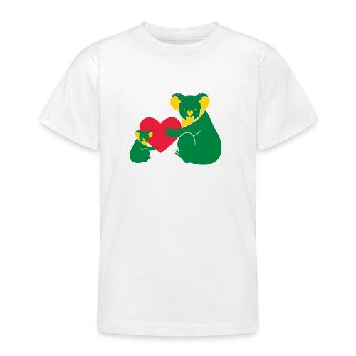 Koala Heart Baby - Teenage T-Shirt