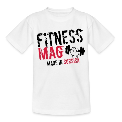 Fitness Mag made in corsica 100% Polyester - T-shirt Ado