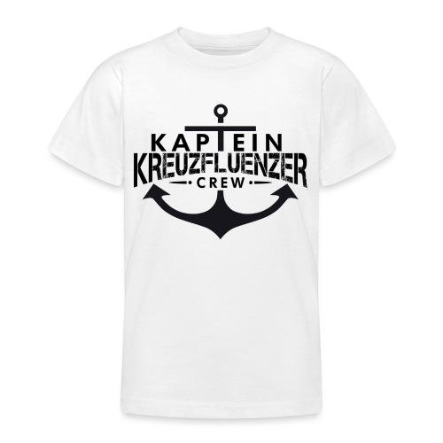 Kaptein Kreuzfluenzer Crew - Teenager T-Shirt