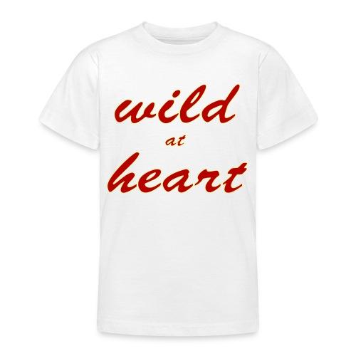 wild at heart - Teenager T-Shirt