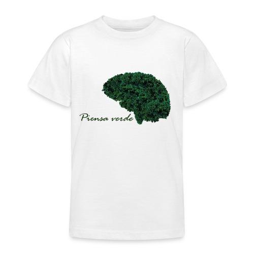 Piensa verde - Camiseta adolescente