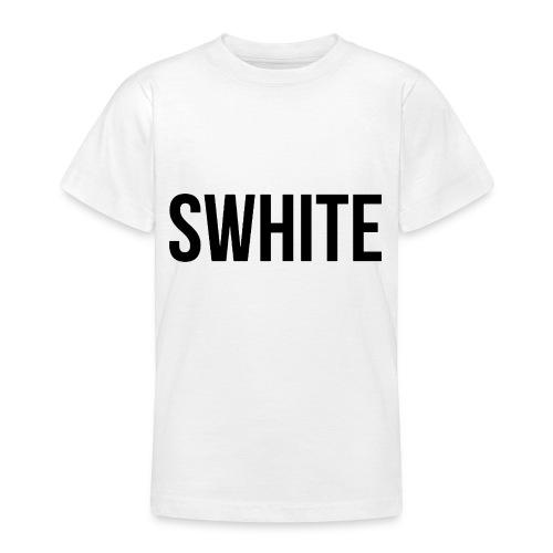 Swhite - Teenager T-shirt
