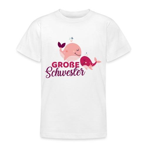 Wale - große Schwester - Teenager T-Shirt