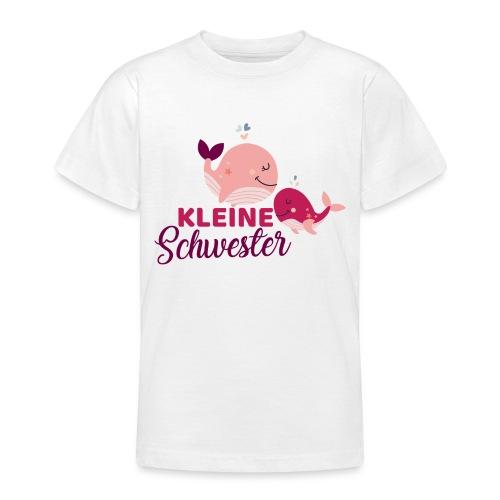 Wale - kleine Schwester - Teenager T-Shirt
