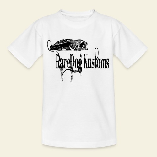 rd kustoms typed - Teenager-T-shirt