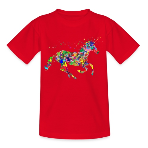 Einhorn - Teenager T-Shirt