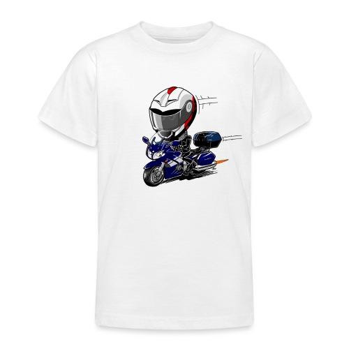 FJR OceanBlue helm en kofferset - Teenager T-shirt