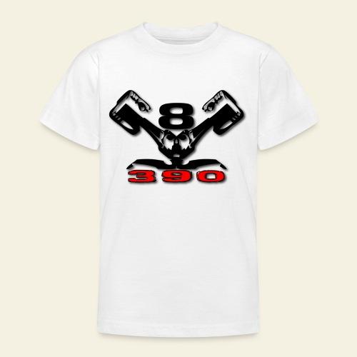 390 v8 - Teenager-T-shirt