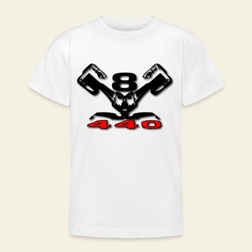 440 v8 - Teenager-T-shirt