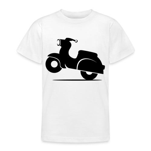 Schwalbe knautschig - Teenager T-Shirt