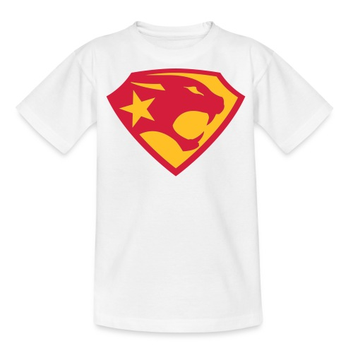 SUPER BLACK PANTHER - Teenager T-Shirt