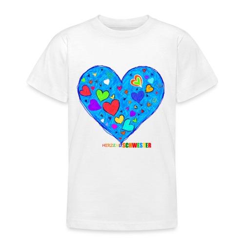 HerzensSchwester - Teenager T-Shirt