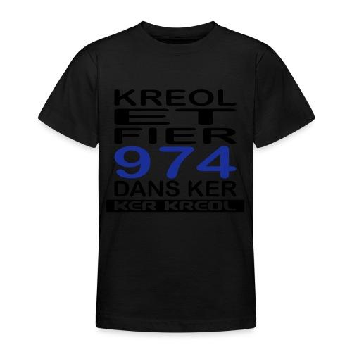 Kreol et Fier - 974 ker kreol - T-shirt Ado