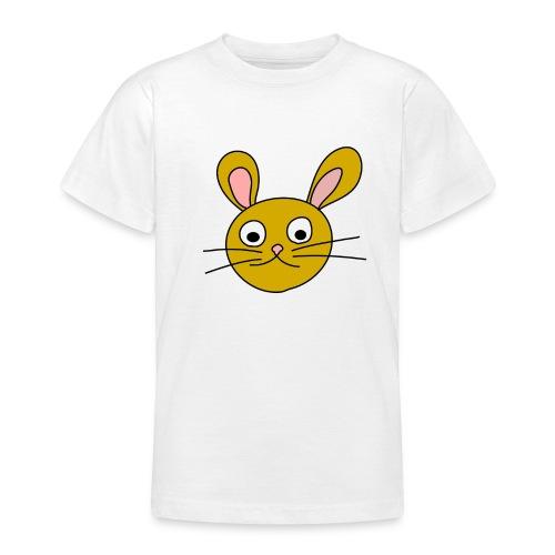 bunny face yellow - T-shirt Ado