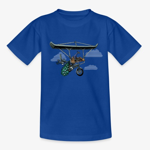 Flight of the Peacock - Teenage T-Shirt