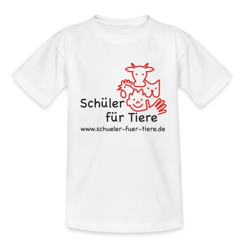 Logo Farbe (2x) - Teenager T-Shirt