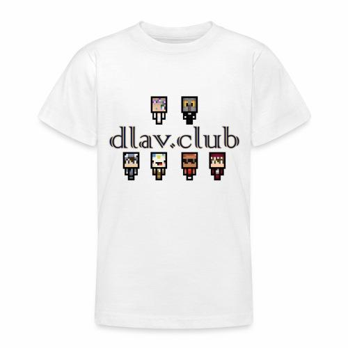 dlav.club staff team - Teenage T-Shirt