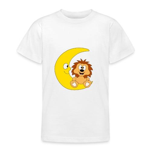 Lustiger Igel - Mond - Kinder - Baby - Fun - Teenager T-Shirt