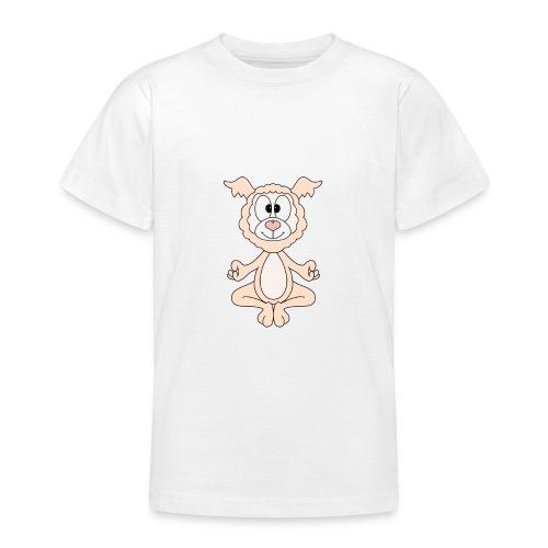 Lustiges Lama - Alpaka - Yoga - Chill - Relax - Teenager T-Shirt
