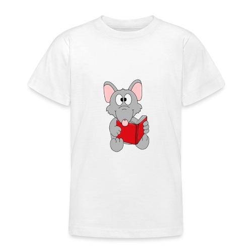 Lustige Leseratte - Ratte - Buch - Lesen - Fun - Teenager T-Shirt