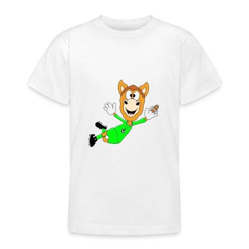 Lustiges Pferd - Fußball - Torwart - Fliegenfänger - Teenager T-Shirt