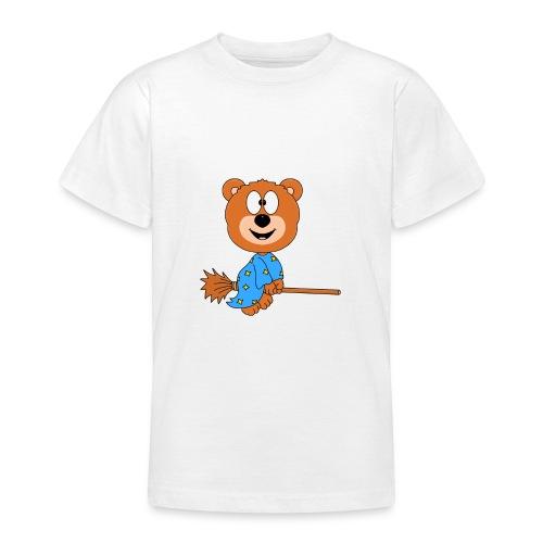 Lustiger Teddy - Bär - Hexe - Kind - Baby - Fun - Teenager T-Shirt
